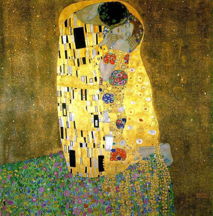 O Beijo. Gustav Klimt, 1907–1908.