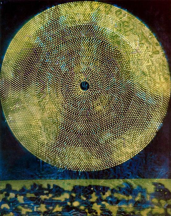 Max Ernst; Nascimento de uma galáxia. 1969.
